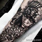 Фото индийский орнамент тату 10.07.2019 №005 - indian ornament tattoo - tatufoto.com