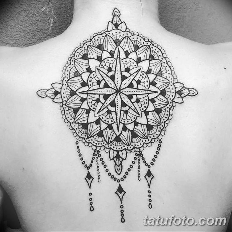 Фото индийский орнамент тату 10.07.2019 №011 - indian ornament tattoo - tatufoto.com