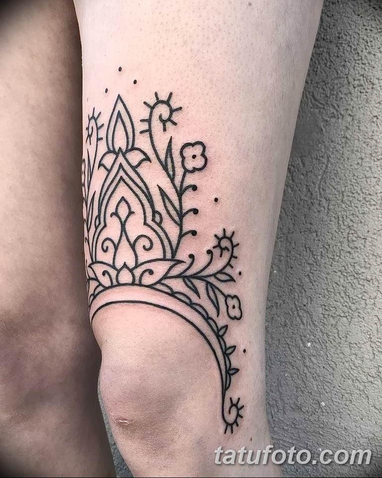Фото красивый орнамент тату 10.07.2019 №002 - beautiful ornament tattoo - tatufoto.com