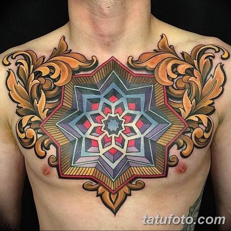 Фото красивый орнамент тату 10.07.2019 №006 - beautiful ornament tattoo - tatufoto.com