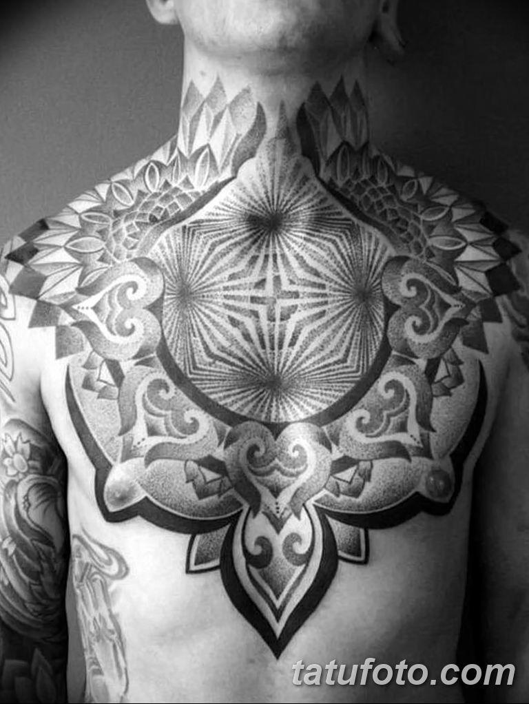 Фото красивый орнамент тату 10.07.2019 №007 - beautiful ornament tattoo - tatufoto.com