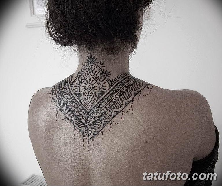 Фото красивый орнамент тату 10.07.2019 №008 - beautiful ornament tattoo - tatufoto.com