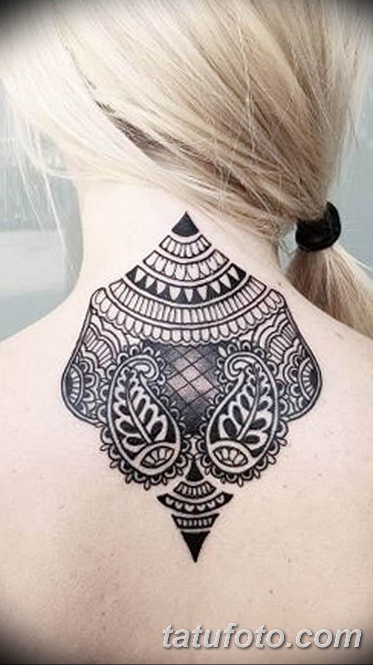 Фото красивый орнамент тату 10.07.2019 №010 - beautiful ornament tattoo - tatufoto.com