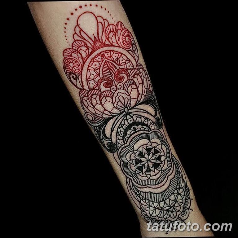Фото красивый орнамент тату 10.07.2019 №012 - beautiful ornament tattoo - tatufoto.com