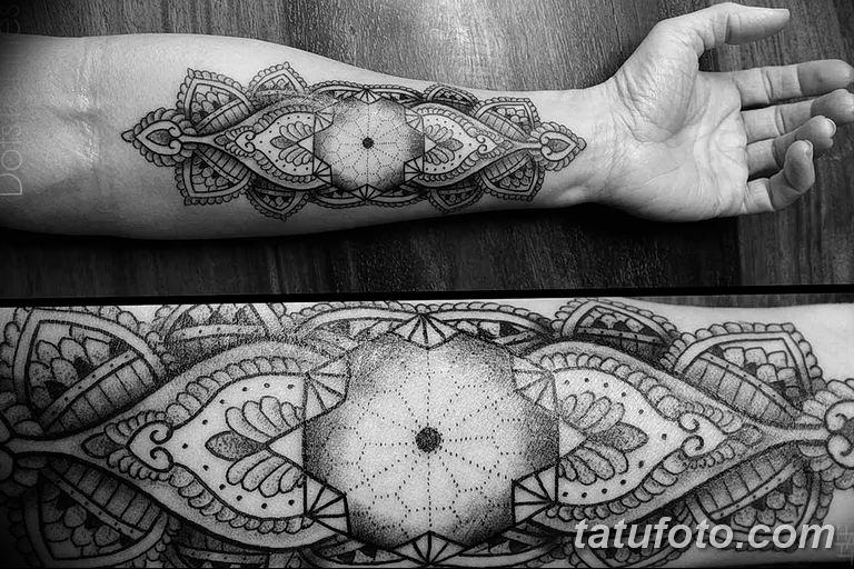 Фото красивый орнамент тату 10.07.2019 №015 - beautiful ornament tattoo - tatufoto.com