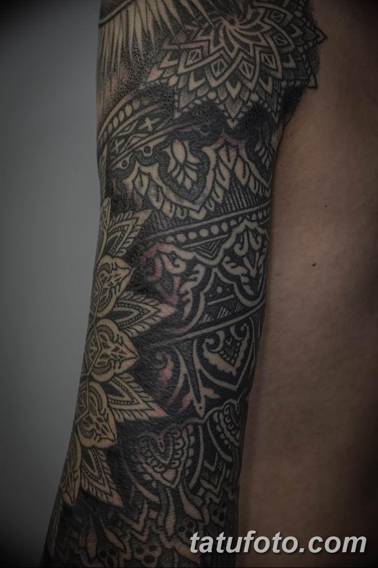 Фото красивый орнамент тату 10.07.2019 №023 - beautiful ornament tattoo - tatufoto.com