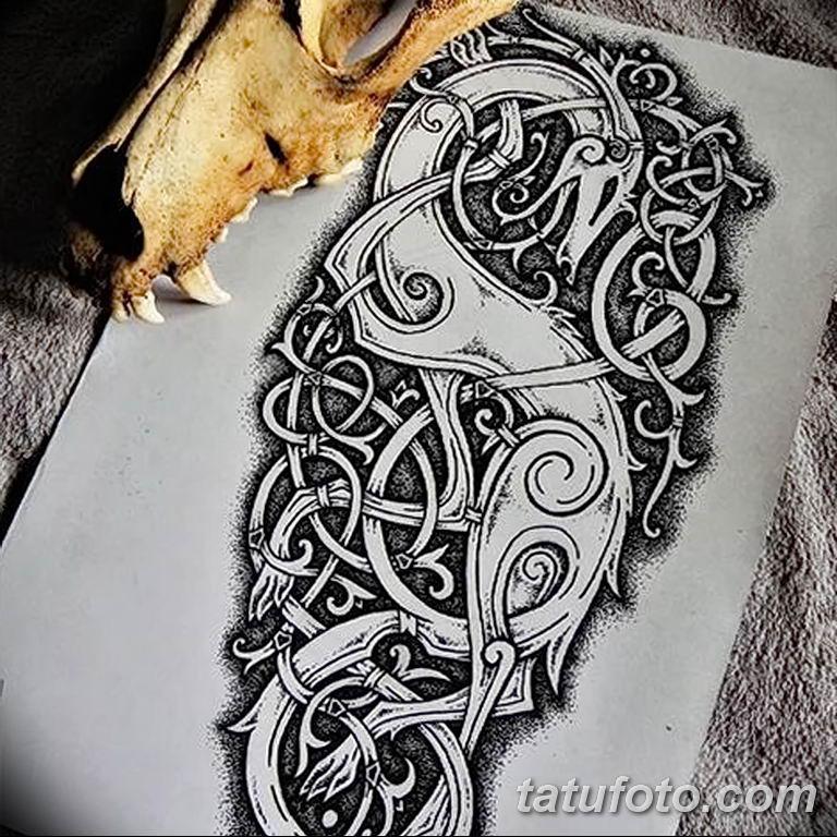 Фото орнамент тату эскизы 10.07.2019 №004 - ornament tattoo sketches - tatufoto.com