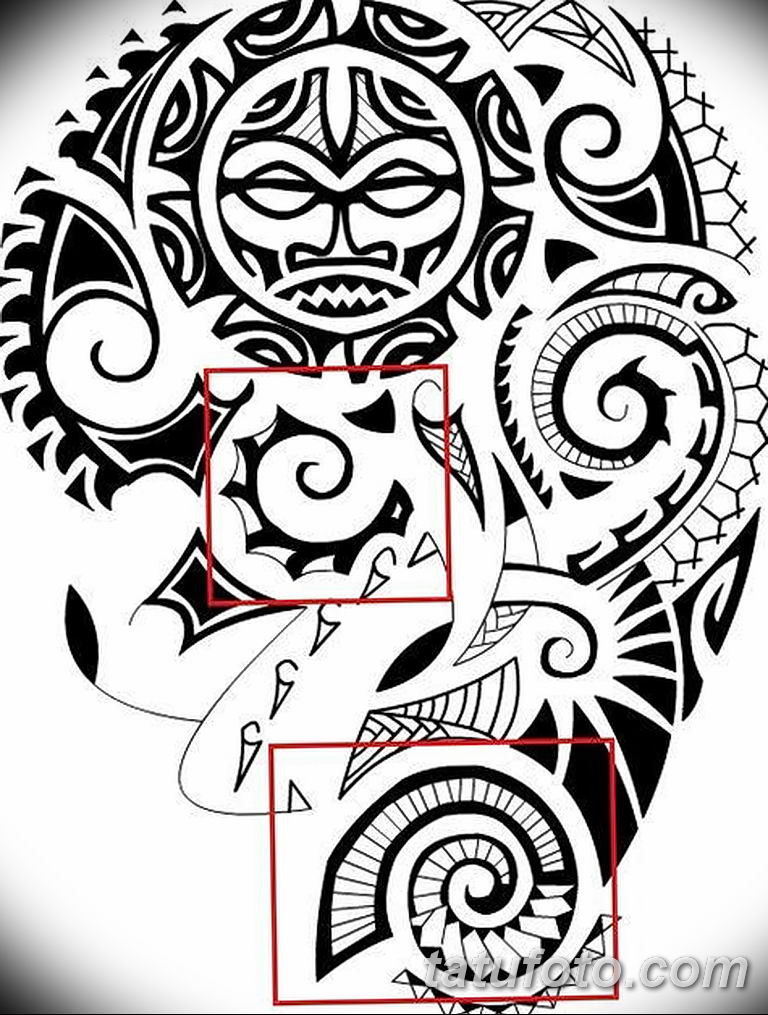 Фото орнамент тату эскизы 10.07.2019 №008 - ornament tattoo sketches - tatufoto.com