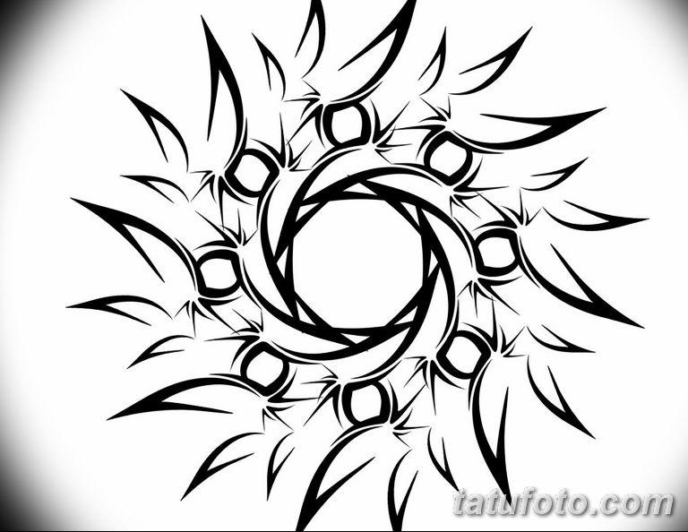 Фото орнамент тату эскизы 10.07.2019 №010 - ornament tattoo sketches - tatufoto.com