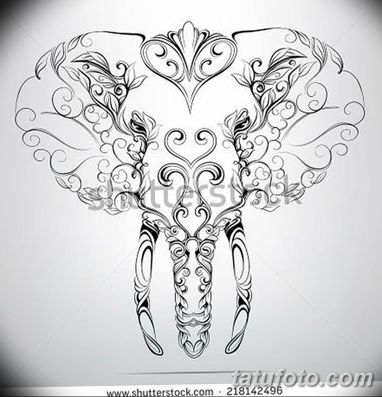 Фото орнамент тату эскизы 10.07.2019 №011 - ornament tattoo sketches - tatufoto.com