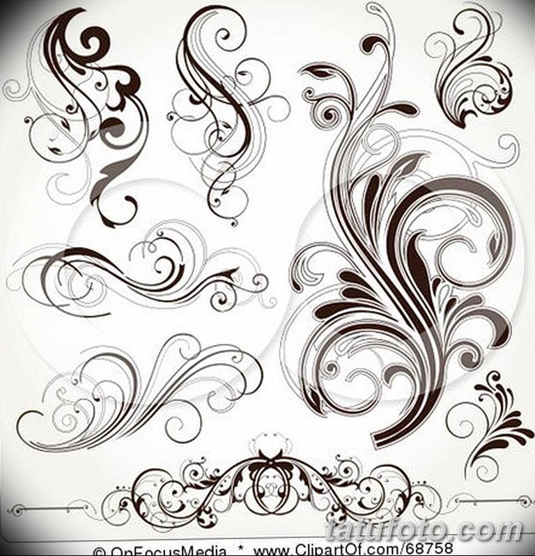 Фото орнамент тату эскизы 10.07.2019 №012 - ornament tattoo sketches - tatufoto.com
