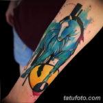 Фото пример тату с лошадью 24.07.2019 №037 - horse tattoo - tatufoto.com