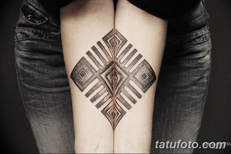 Фото славянский орнамент тату 10.07.2019 №004 - Slavic tattoo ornament - tatufoto.com