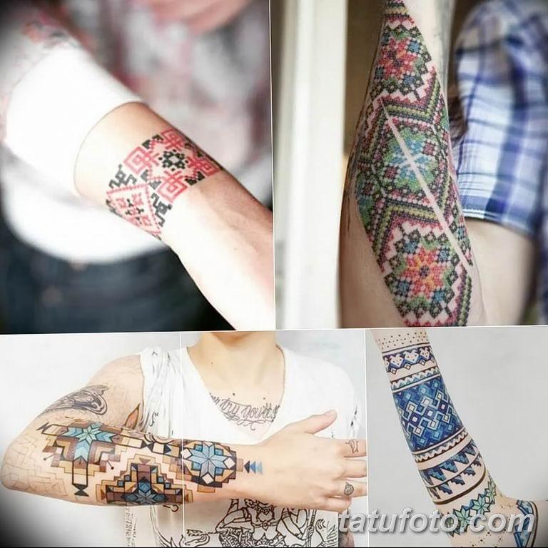 Фото славянский орнамент тату 10.07.2019 №014 - Slavic tattoo ornament - tatufoto.com