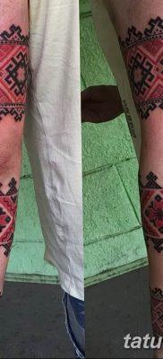 Фото славянский орнамент тату 10.07.2019 №023 – Slavic tattoo ornament – tatufoto.com