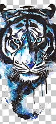 Фото тату белый тигр 28.07.2019 №025 – white tiger tattoo – tatufoto.com