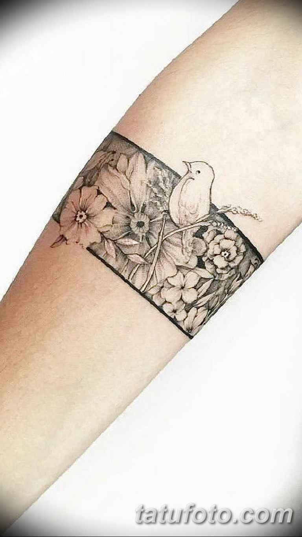 Фото тату браслет орнамент 10.07.2019 №004 - tattoo bracelet ornament - tatufoto.com