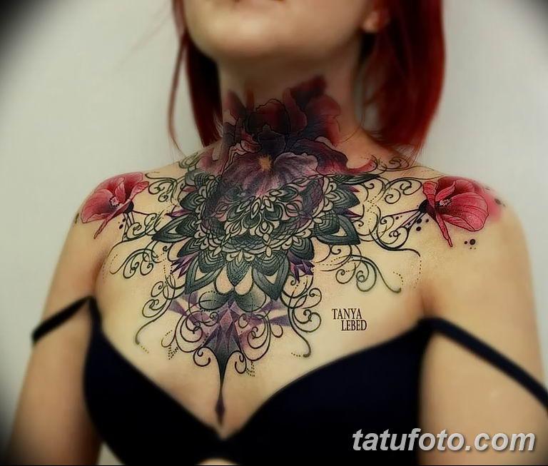 Фото тату орнаменты для девушки 10.07.2019 №001 - tattoo ornaments for girl - tatufoto.com