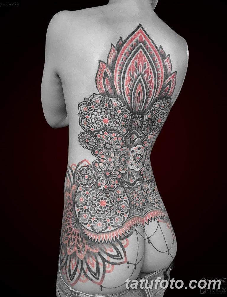 Фото тату орнаменты для девушки 10.07.2019 №004 - tattoo ornaments for girl - tatufoto.com