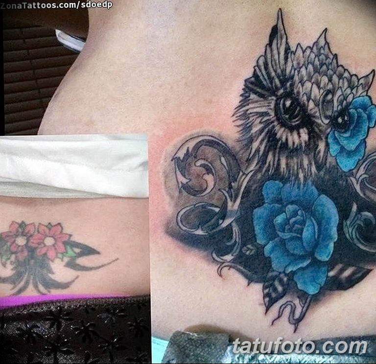 Фото тату орнаменты цветы 10.07.2019 №016 - tattoo ornaments flowers - tatufoto.com