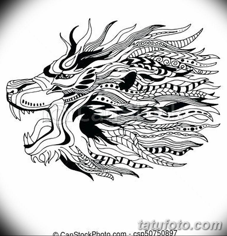 Фото тату орнамент лев 10.07.2019 №009 - tattoo ornament lion - tatufoto.com