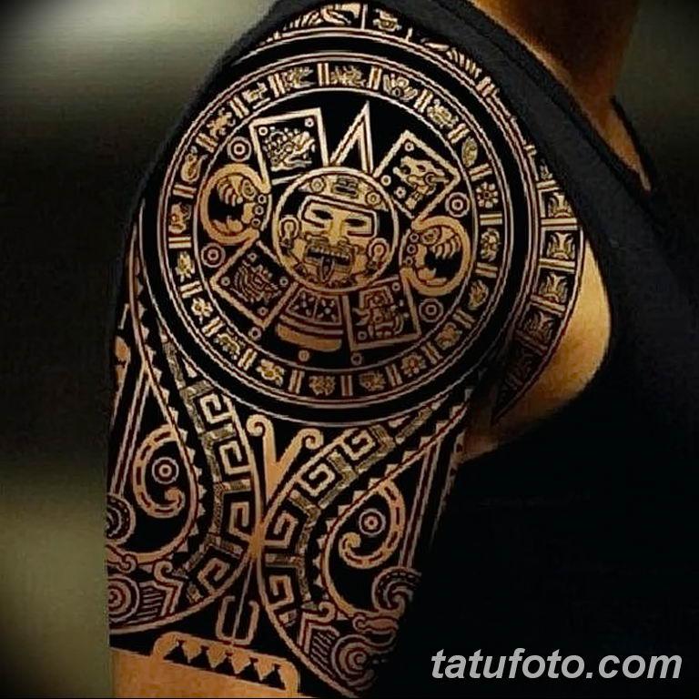 Фото тату орнамент мужские 10.07.2019 №021 - tattoo ornament for men - tatufoto.com