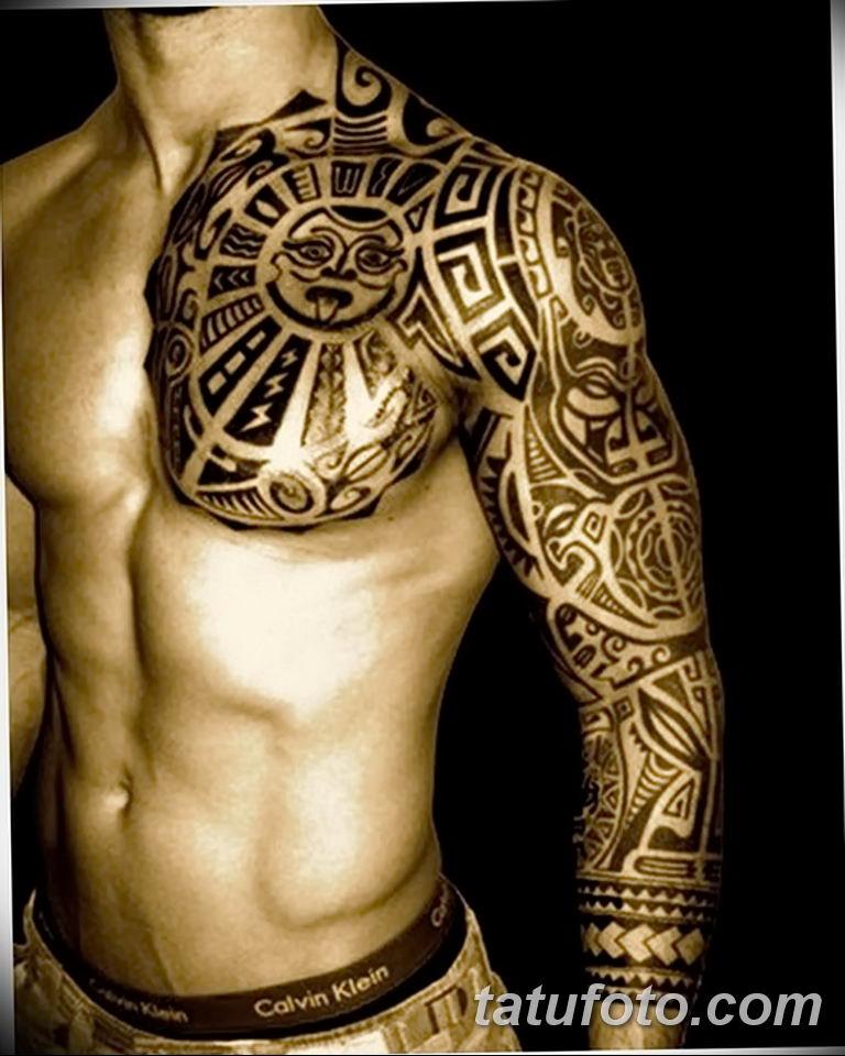Фото тату орнамент мужские 10.07.2019 №025 - tattoo ornament for men - tatufoto.com