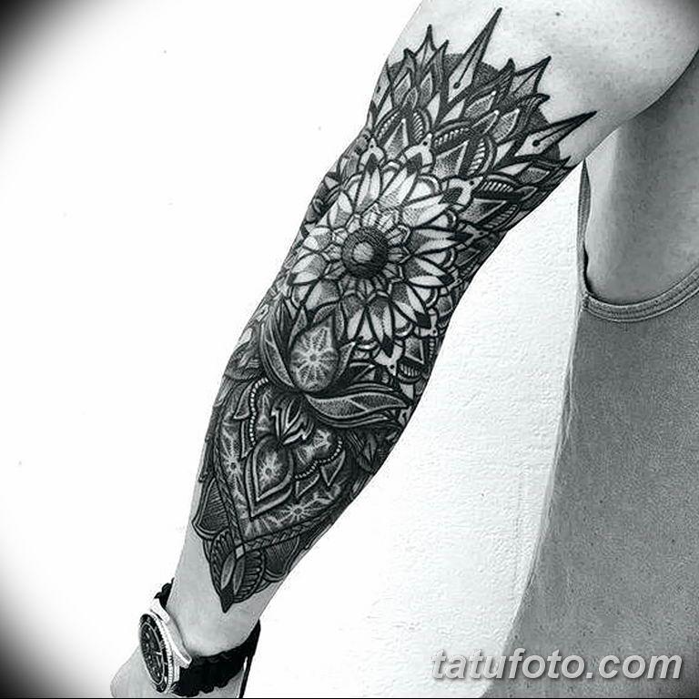 Фото тату орнамент мужские 10.07.2019 №031 - tattoo ornament for men - tatufoto.com