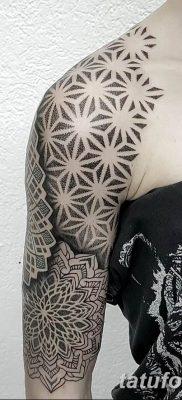 Фото тату орнамент на плече 10.07.2019 №013 – tattoo ornament on the shoul – tatufoto.com