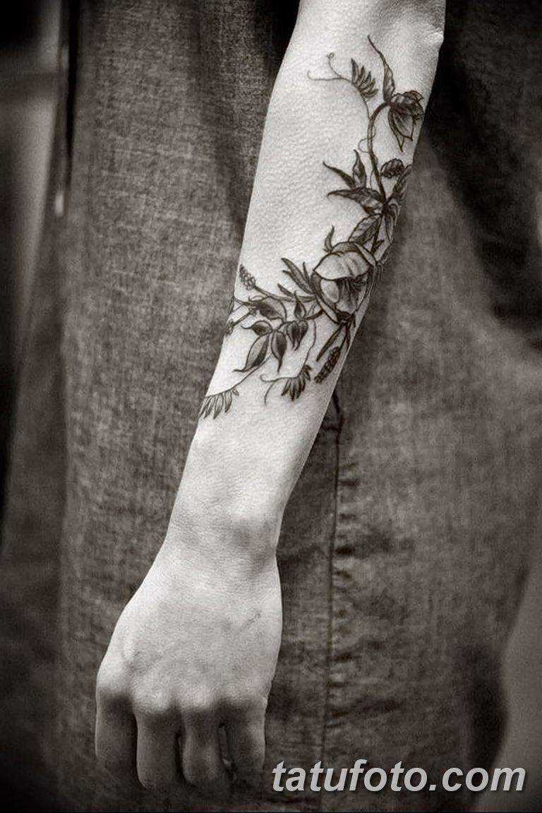 Фото тату орнамент предплечье 10.07.2019 №001 - tattoo ornament forearm - tatufoto.com