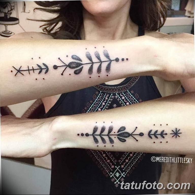 Фото тату орнамент предплечье 10.07.2019 №022 - tattoo ornament forearm - tatufoto.com