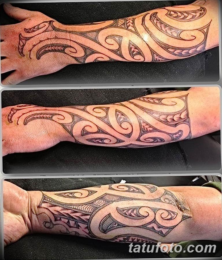 Фото тату орнамент предплечье 10.07.2019 №032 - tattoo ornament forearm - tatufoto.com