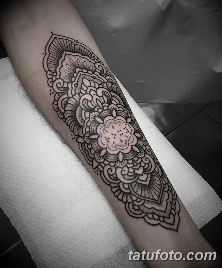 Фото тату орнамент 10.07.2019 №020 - tattoo ornament - tatufoto.com