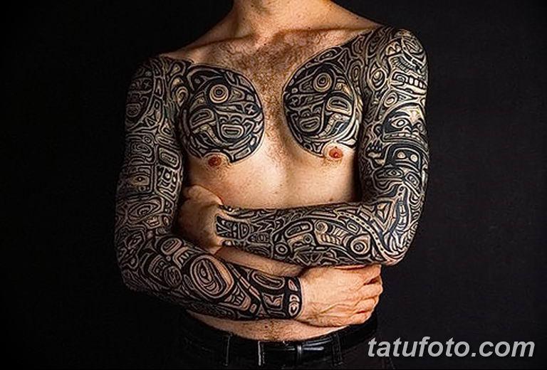 Фото тату орнамент 10.07.2019 №024 - tattoo ornament - tatufoto.com