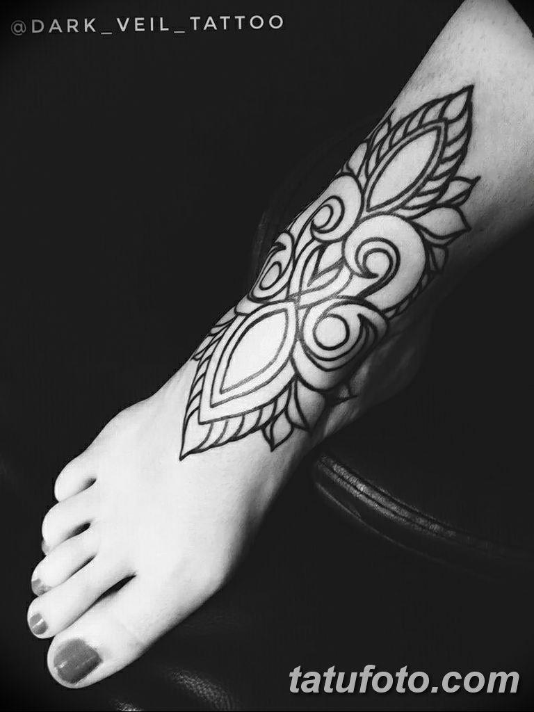 Фото тату орнамент 10.07.2019 №037 - tattoo ornament - tatufoto.com