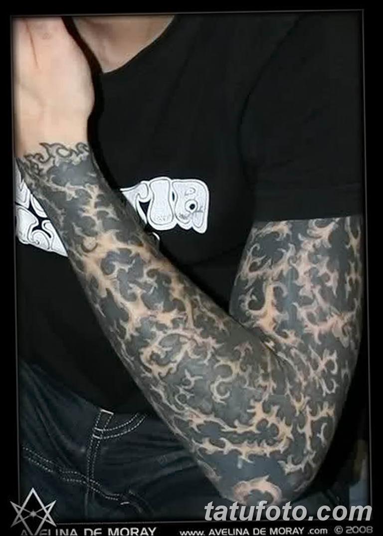 Фото тату рукав орнамент 10.07.2019 №016 - tattoo sleeve ornament - tatufoto.com