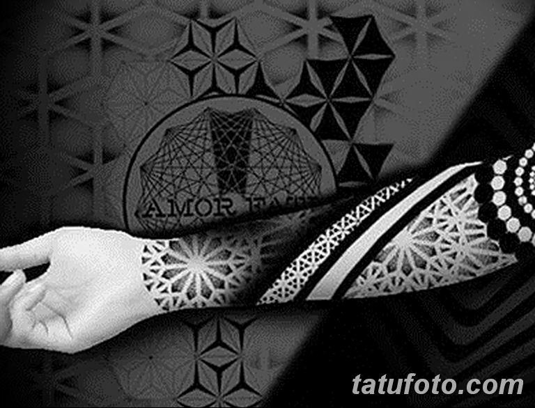 Фото тату рукав орнамент 10.07.2019 №018 - tattoo sleeve ornament - tatufoto.com