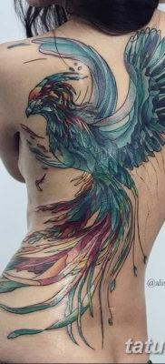 Фото тату феникс для девушек 18.07.2019 №031 – tattoo phoenix for girls – tatufoto.com