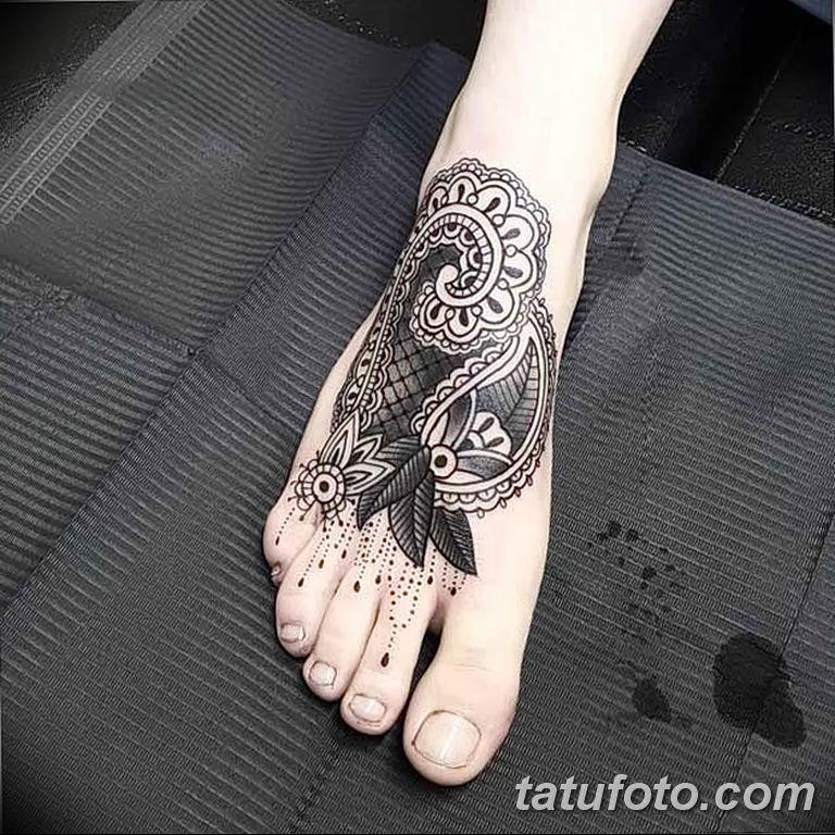 Фото узор орнамент вариант тату 10.07.2019 №015 - photo tattoo ornament - tatufoto.com