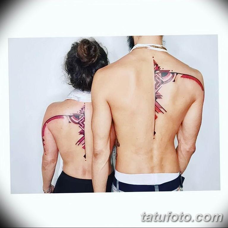 Фото узор орнамент вариант тату 10.07.2019 №017 - photo tattoo ornament - tatufoto.com