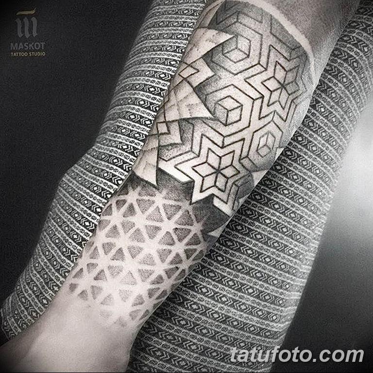 Фото узор орнамент тату 10.07.2019 №006 - pattern ornament tattoo - tatufoto.com