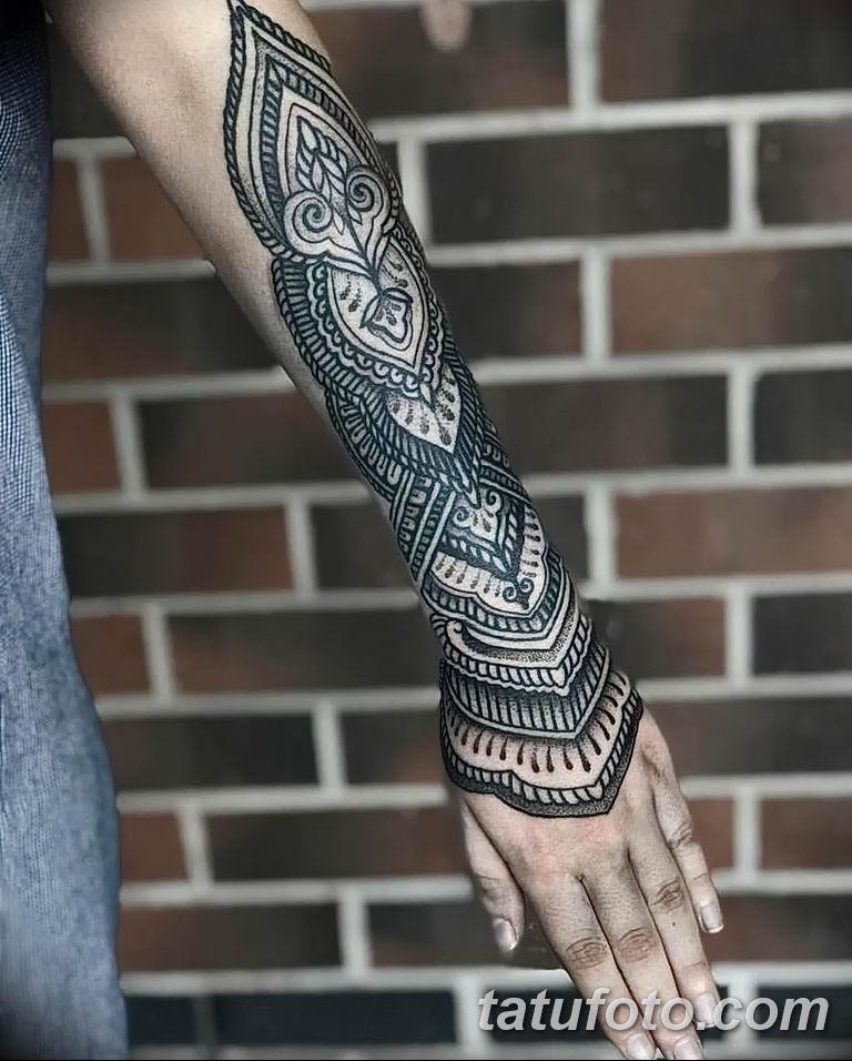 Фото узор орнамент тату 10.07.2019 №010 - pattern ornament tattoo - tatufoto.com
