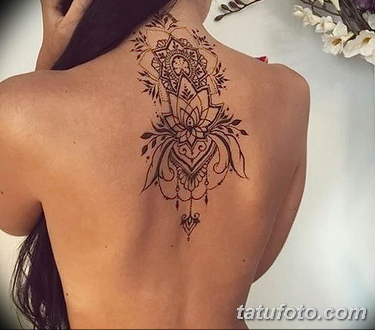 Фото узор орнамент тату 10.07.2019 №011 - pattern ornament tattoo - tatufoto.com