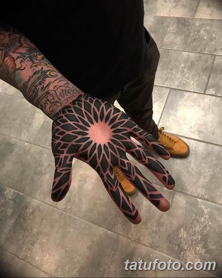 Фото узор орнамент тату 10.07.2019 №012 - pattern ornament tattoo - tatufoto.com