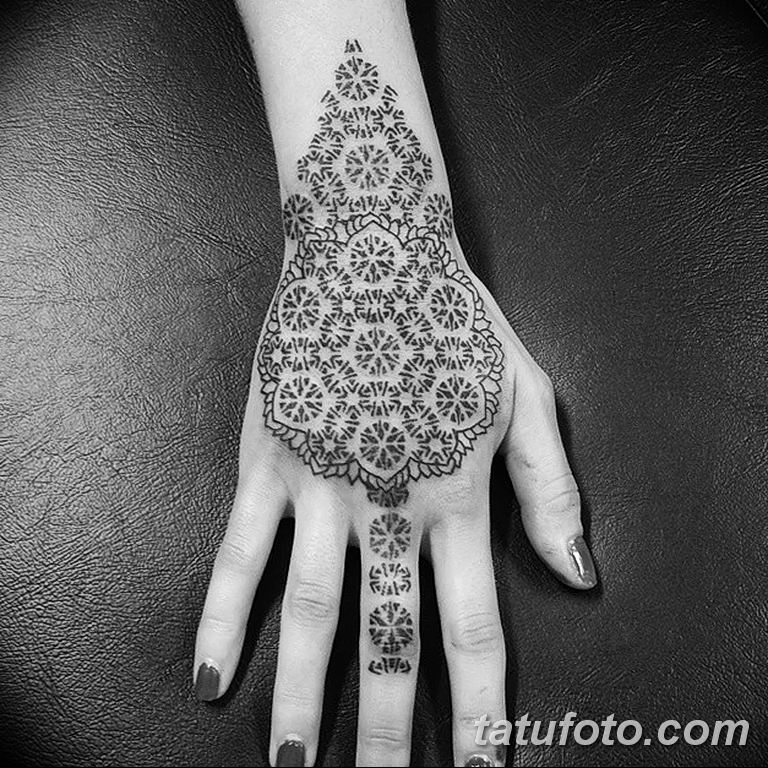 Фото узор орнамент тату 10.07.2019 №018 - pattern ornament tattoo - tatufoto.com