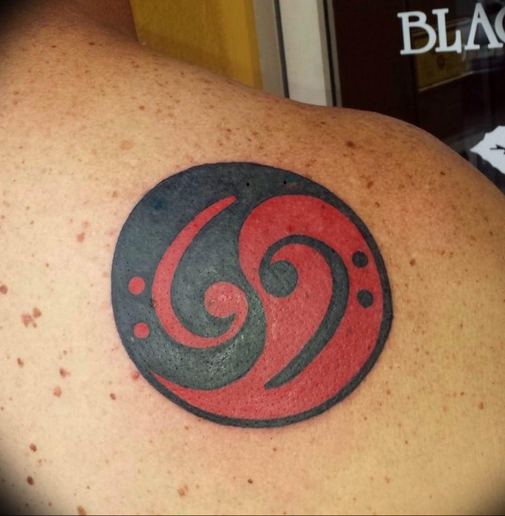 Фото басовый ключ тату 21.08.2019 №047 - bass clef tattoo - tatufoto.com