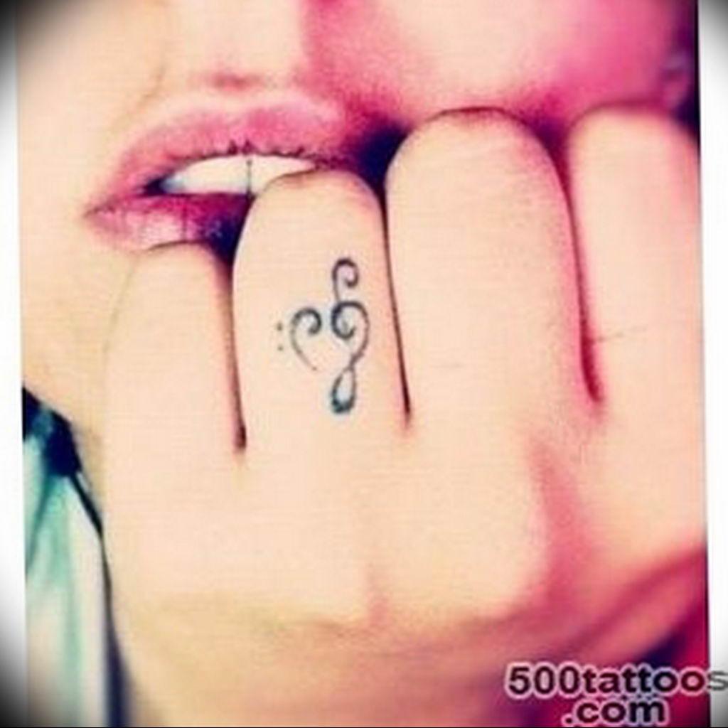 Фото басовый ключ тату 21.08.2019 №066 - bass clef tattoo - tatufoto.com