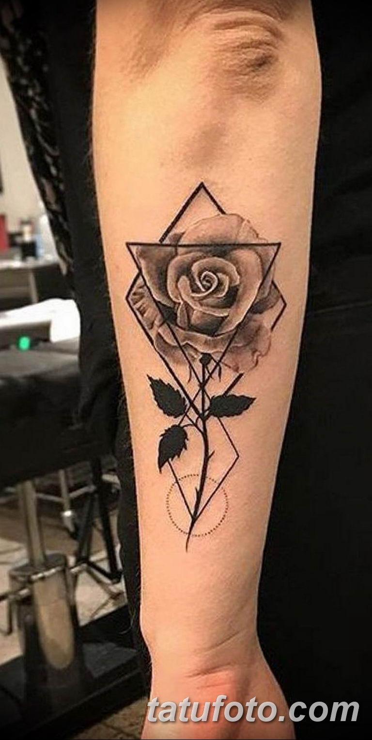 Фото красивые розы тату 12.08.2019 №012 - beautiful roses tattoo - tatufoto.com
