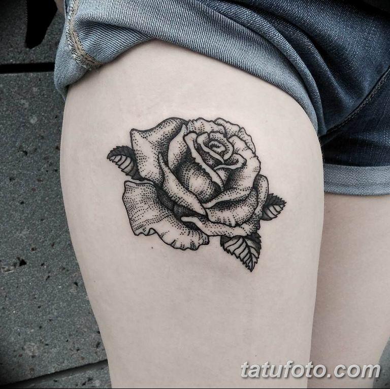 Фото красивые розы тату 12.08.2019 №021 - beautiful roses tattoo - tatufoto.com
