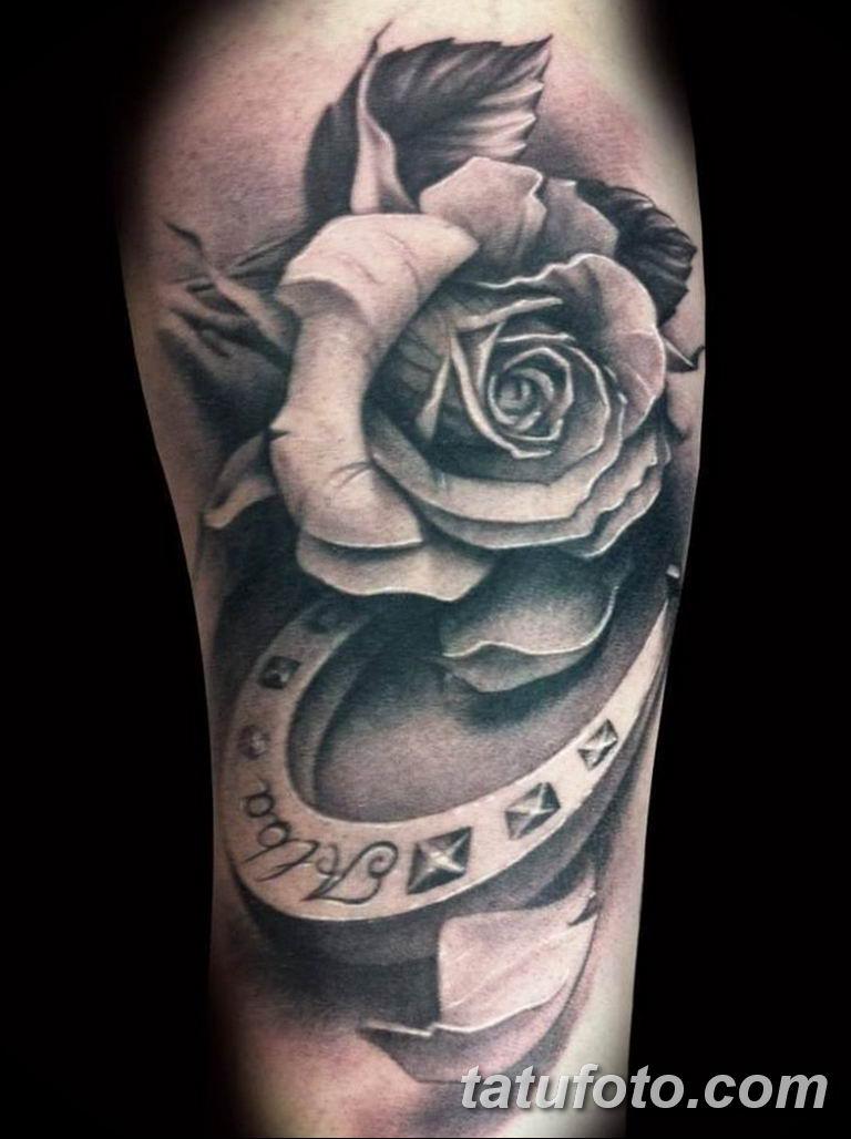 Фото красивые розы тату 12.08.2019 №043 - beautiful roses tattoo - tatufoto.com